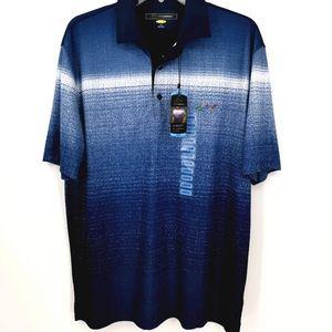 Greg Norman Men's L NWT Blue Collared Golf Shirt